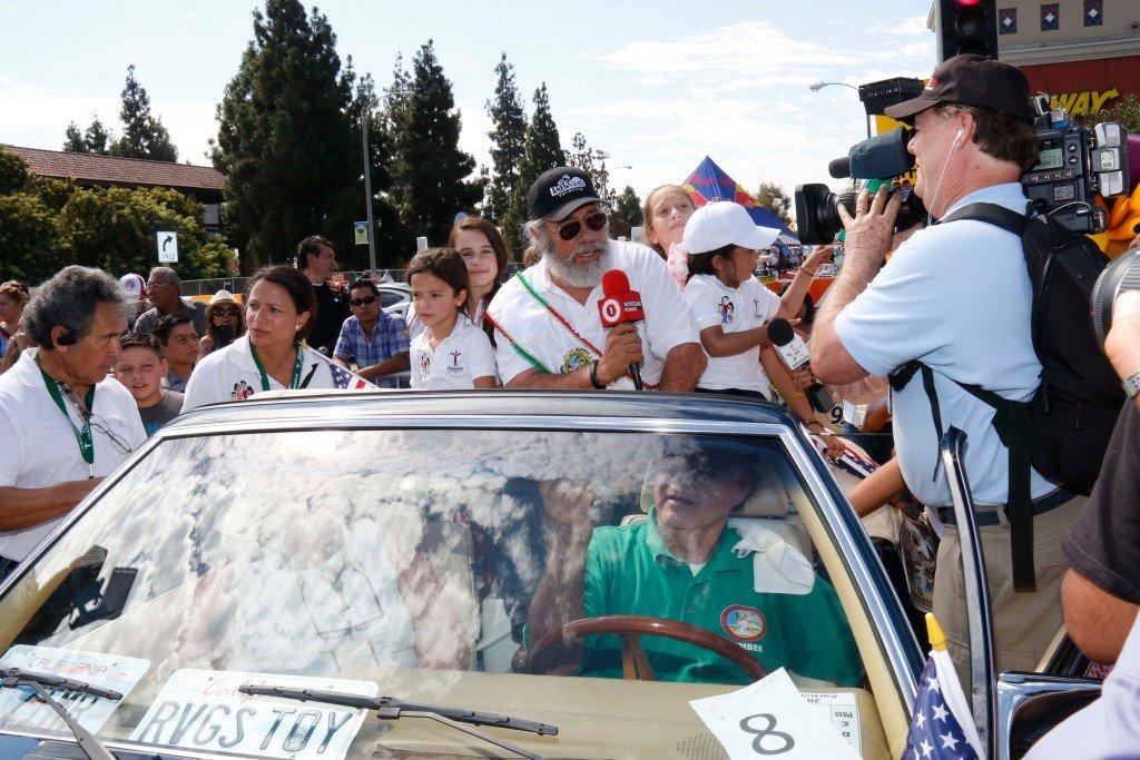 Edward James Olmos Grand Marshal East La Parade 2014