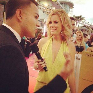 Frankie J Premio Lo Nuestro Red Carpet in Miami 2014