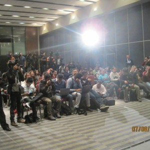 Philly Brown Mexico City Press Conference Media